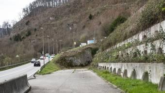 Portal des geplanten Muggenbergtunnel Angenstein, Duggingen, Aesch
