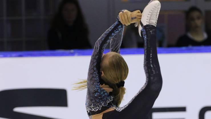 Kimmy Repond, holte  zum dritten Mal in Folge Gold an der Schweizer Meisterschaft.