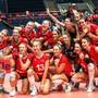 Wollen wieder an die EM: Die Schweizer Volleyballerinnen im letzten Jahr beim Endrunden-Turnier in Bratislava
