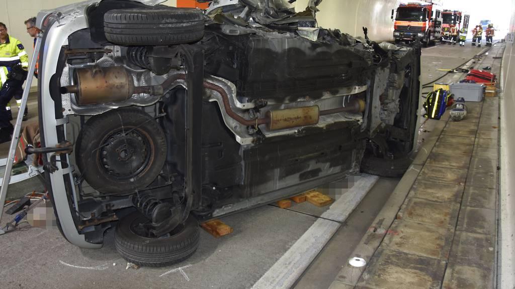 Walenstadt (SG): Tödlicher Verkehrsunfall auf der A3