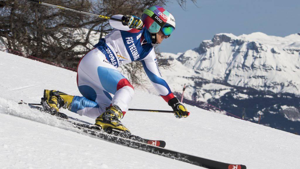 Amélie Reymond gewinnt schon ihre zweite Goldmedaille an der WM in Frankreich