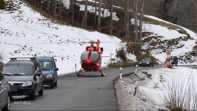 Mofa-Unfall in Kienberg: Rentner verletzte sich schwer