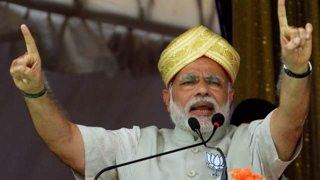 Spitzenkandidat der Oppositionspartei: Narendra Modi