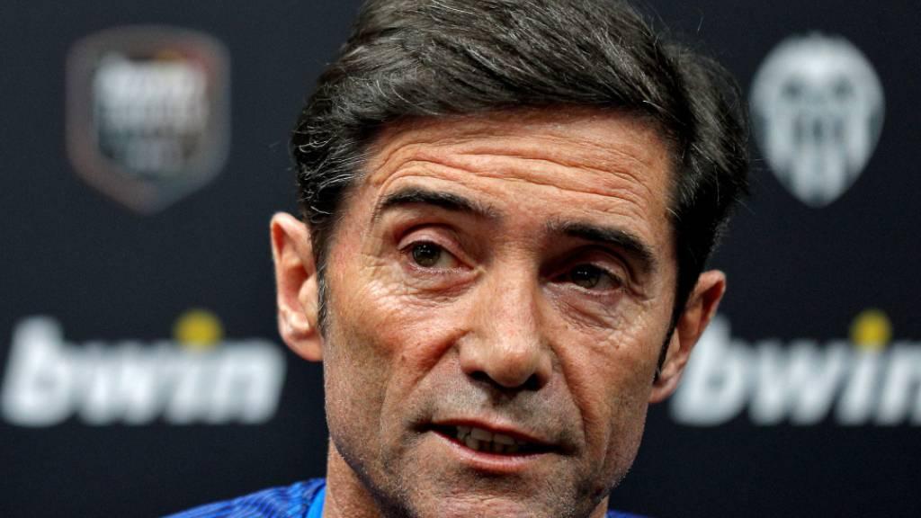 Trainer Marcelino hat beim FC Valencia ausgedient