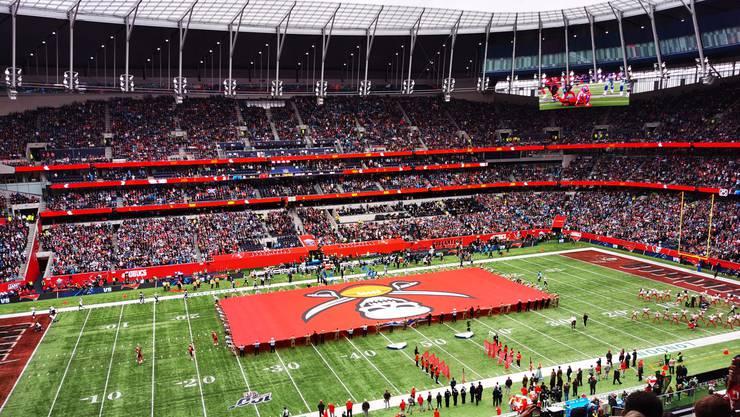 Gigantische Kulisse: 60'087 Zuschauer besuchten die Partie zwischen den Bucs und den Panthers.