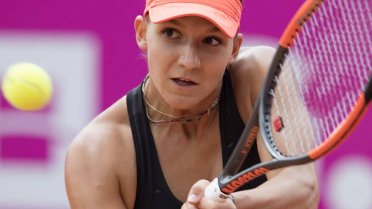 Rebeka Masarova steht neuerdings für Spanien auf dem Court