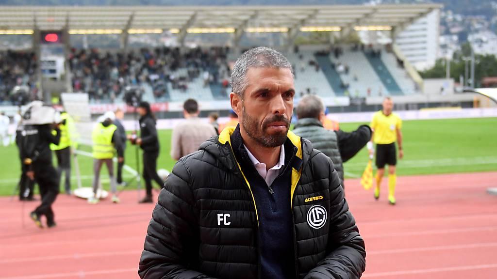 Vorerst scheint Fabio Celestini Lugano-Trainer zu bleiben