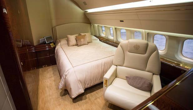 Das Schlafzimmer für die Zeit über den Wolken (© Wattie Cheung / Camera Press / picturedesk.com)