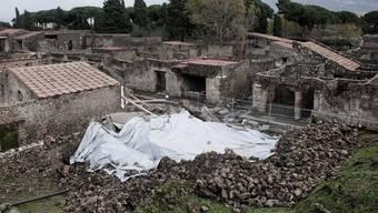 Blick auf einen Teil des antiken Pompeji (Archiv)
