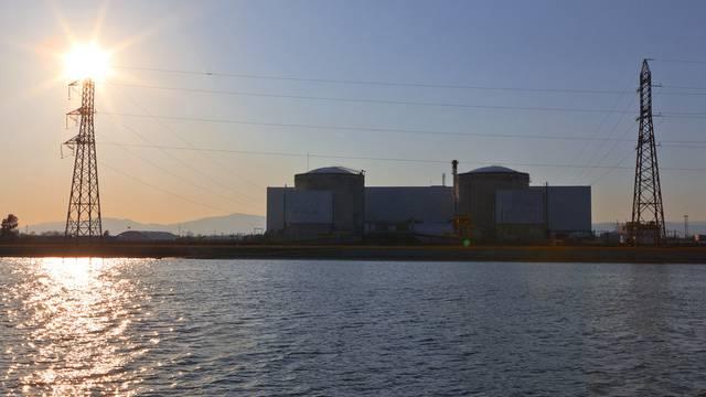 Blick auf das Kernkraftwerk Fessenheim (Archiv)