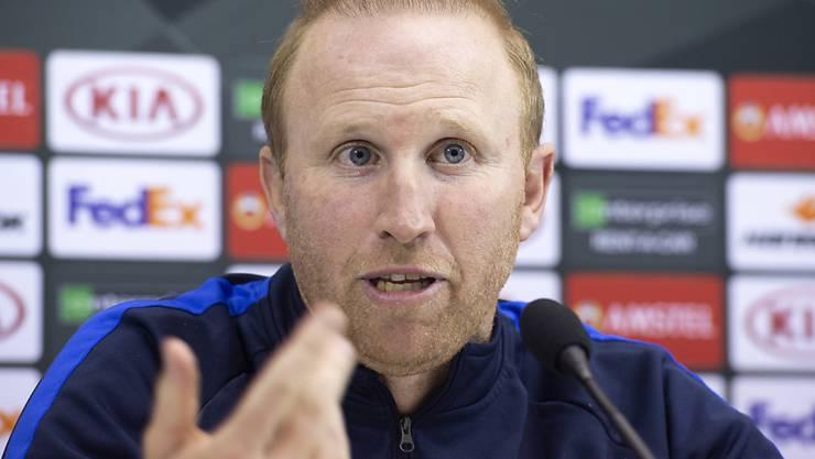 Ludovic Magnin war zufrieden mit dem letzten Europacup-Auftritt seiner Mannschaft in dieser Saison