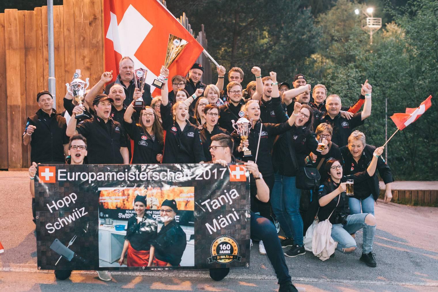 Die Schweizer Delegation (Bild: zVg)