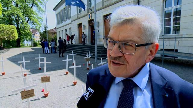 «Wenn wir nichts machen, haben wir ein Defizit»: Der Aargauer Finanzdirektor Roland Brogli zu den geplanten Sparmassnahmen der Regierung.