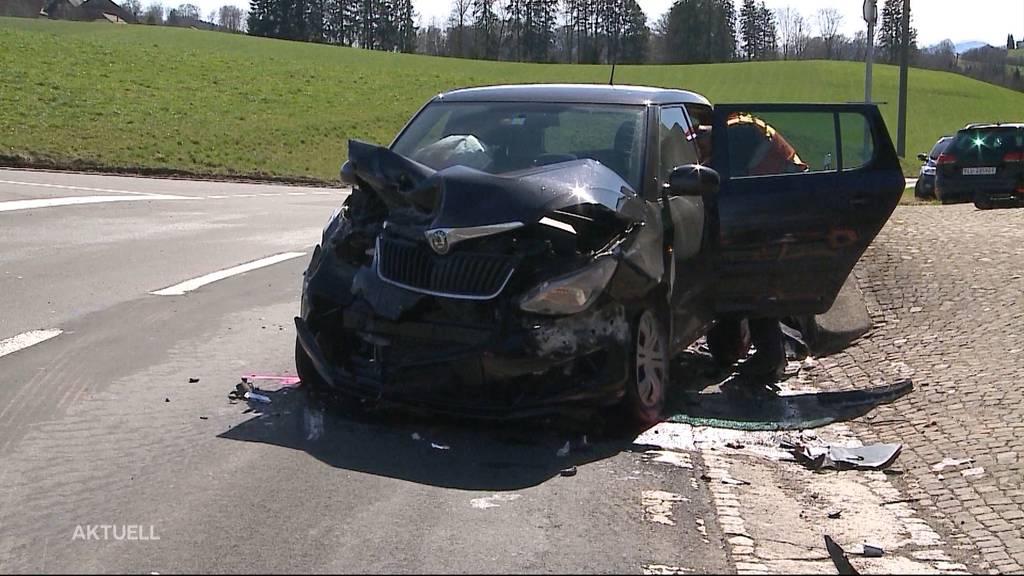 Badener Ex-Stadtammann Bürge löste Autounfall Menziken-Beromünster aus