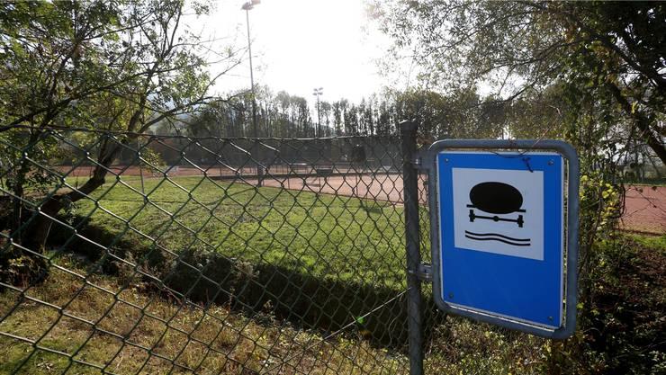 Die Zukunft der Tennisanlage sieht nicht berauschend aus.
