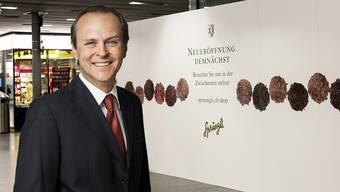 Sprüngli-Verwaltungsratspräsident Milan Prenosil: «Den Investitionsbetrag für Baden hatten wir extra eingefroren.»