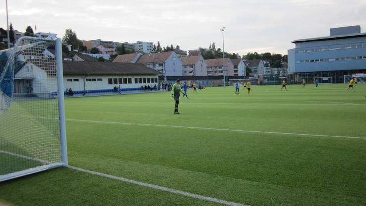 Nicht das Joggeli in Basel, nein einfach der Kittler in Frenkendorf. FC Frenkendorf - FC PRATTELN 1 : 1    (1 : 1)