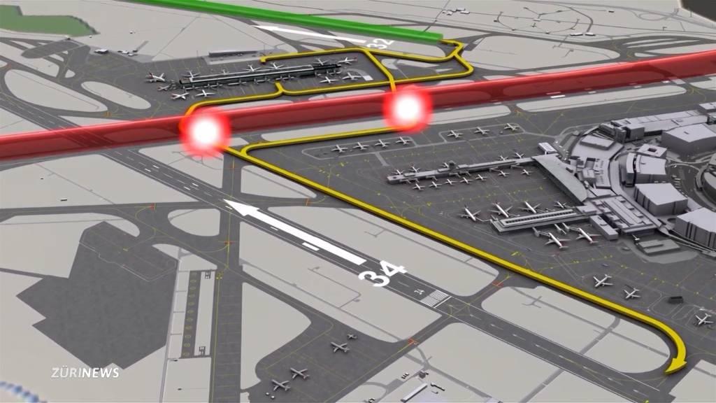 250-Millionen-Projekt: Flughafen Zürich will zwei Pisten verlängern