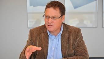 Verwaltungsratspräsident Urs Allemann erwartet vom Bundesamt für Verkehr bald die Bewilligung des Gondelbahn-Neubaus. Oliver menge