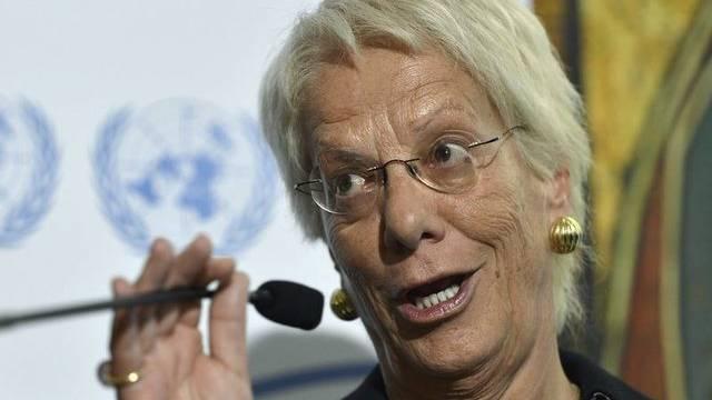 Carla del Ponte soll von der unzureichenden Beweislage gewusst haben (Archiv)