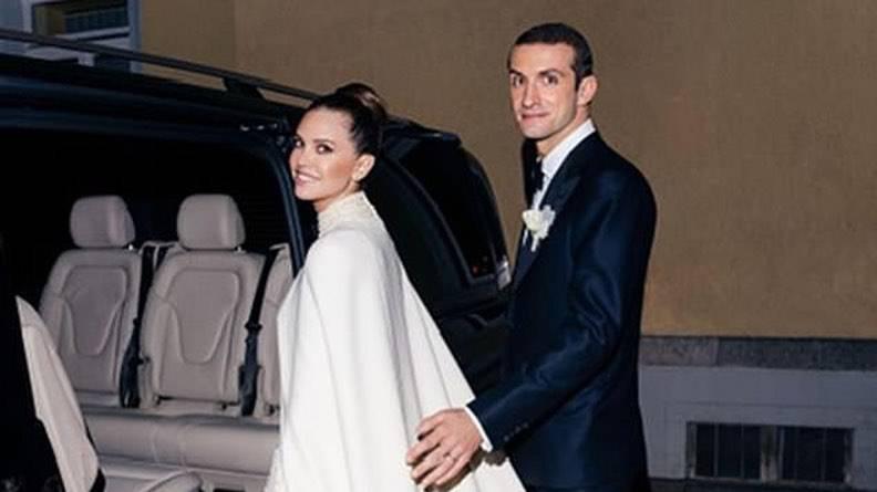 Hochzeit von Stavros Niarchos und Dascha Schukowa.