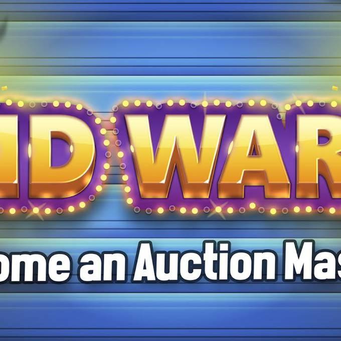 Auktions-Profis aufgepasst! Jetzt kommt BID Wars