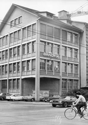 Die Bandfix AG wurde 1954 an der Badenerstrasse in Zürich gegründet.