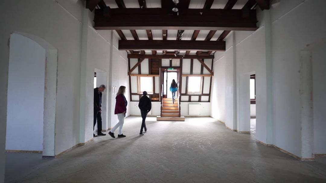 Für drei Stunden geöffnet: Rundgang durchs Schloss Bad Zurzach – mit einem Blick von oben