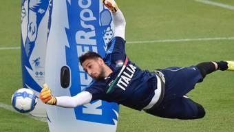 Soll Italiens U21 an der EM-Endrunde in Polen zum sechsten Titel hexen: Gianluigi Donnarumma