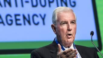Die WADA (im Bild Noch-Präsident Craig Reedie) will die Geheimdienste in den Anti-Doping-Kampf einbinden