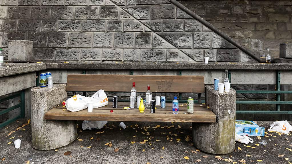 Littering – achtloses Wegwerfen von Abfällen im öffentlichen Raum – verursacht im Thurgau jährlich Kosten von bis zu 6,5 Millionen Franken. (Symbolbild)