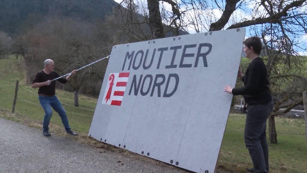 Moutier: Pro Bernerin von Separatisten eingesperrt