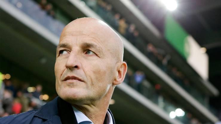 Der Deutsche Peter Zeidler ist seit eineinhalb Jahren Trainer des FC St.Gallen.