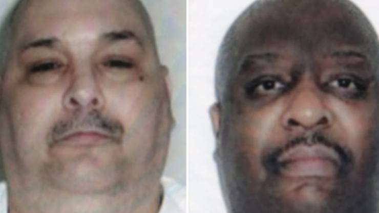Zwei an einem Tag: Die Todeskandidaten Jack Jones (links) und Marcel Williams sind in Arkansas hingerichtet worden.