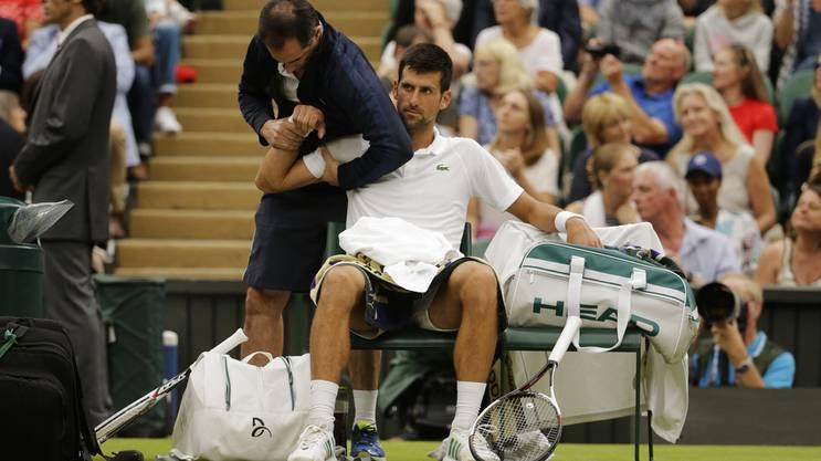 Novak Djokovic musste sich mehrmals behandeln lassen.