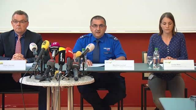 Motorsägen-Angriff in Schaffhausen: Die Pressekonferenz