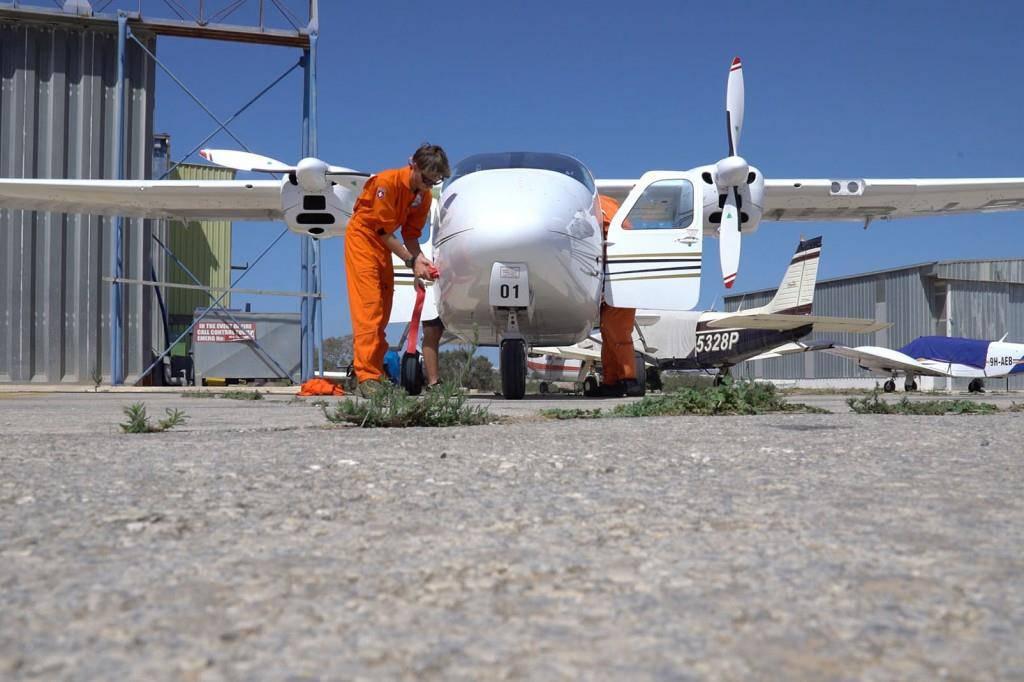 Ostschweizer Piloten leisten Hilfe auf dem Mittlemeer