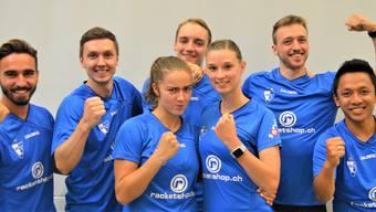 Team Argovia überrollt den Schweizermeister BC Uzwil.