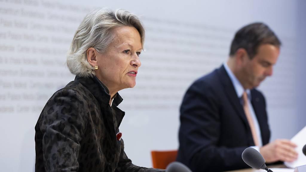Andrea Gmür-Schönenberger tritt als Mitte-Fraktionschefin zurück