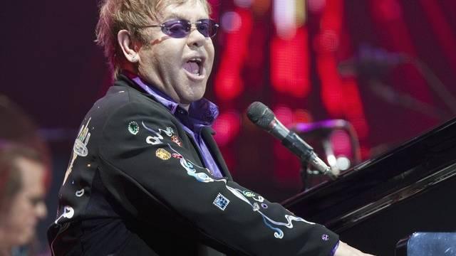 Musik-Star Elton John (Archiv)