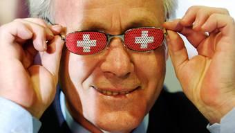 """Held der Nachkriegs-Schweiz: Jakob """"Köbi"""" Kuhn. (Archivbild von 2005, Keystone/Eddy Risch)"""