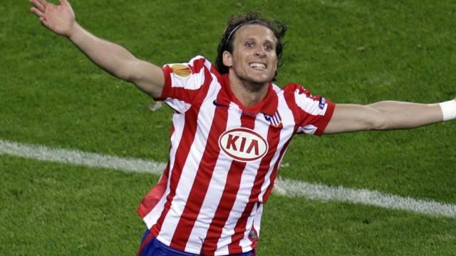 Diego Forlan erzielte den Führungstreffer für Atletico
