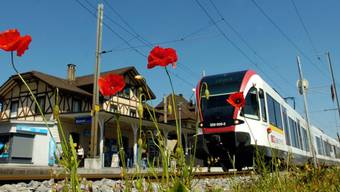 Die Seetalbahn von Lenzburg AG nach Luzern ist eine wichtige SBB-Regionalstrecke.