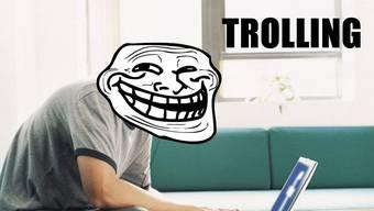 Leise daheim, laut im Internet! Der gemeine Social-Media-Troll.