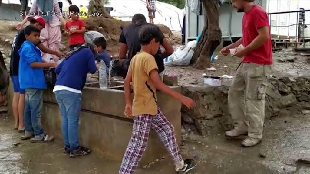 Mögliche Corona-Katastrophe: Flüchtlinge leben auf engstem Raum