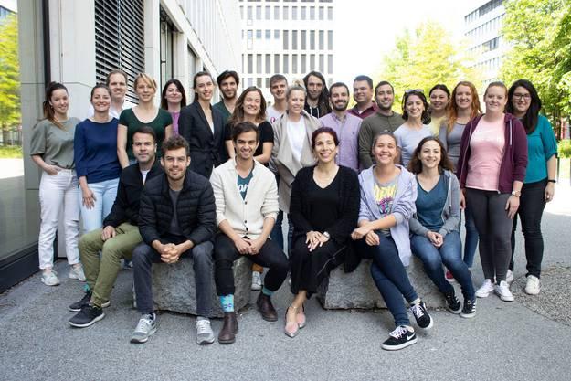 Das Team des Zuger Babybrei-Start-ups Yamo.