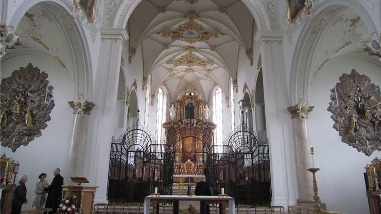 Die Klosterkirche von Mariastein wurde zwischen 1648 und 1655 erbaut.