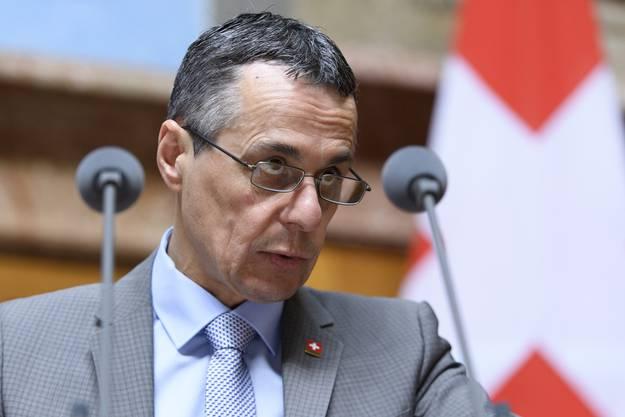 Bundesrat Cassis sorgt einmal mehr für Irritationen.