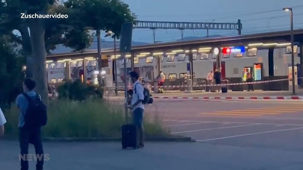 Däniken SO: Rund 200 Zug-Passagiere wegen Bombendrohung evakuiert