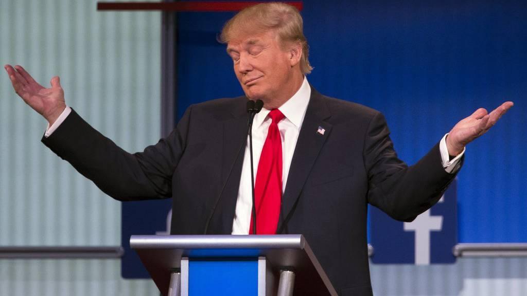 Donald Trump will für die Republikaner Präsidentschaftskandidat werden.